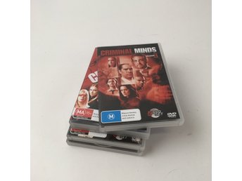 DVD Video, DVD-Samling, Criminal minds - säsong 3-6