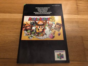 Mario Party 2 - Nintendo 64 manual
