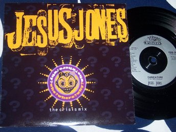 "JESUS JONES - WHO ? WHERE ? WHY ? 7"" 1991 UK TOPPSKICK!!"