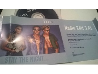 Imx - Stay the night, single CD, promo