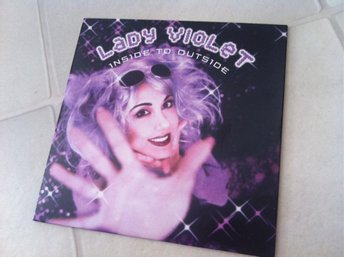 CD singel: Lady Violet - Inside To Outside
