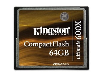 Kingston 64GB Ultimate CompactFlash 600x w/Recovery s/w