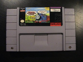 THOMAS THE TANK ENGINE & FRIENDS / SUPER NINTENDO SNES / USA IMPORT