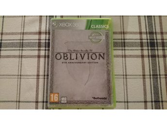 The Elder Scrolls Oblivion 5th Anniversary Edition Xbox 360 Map Kartan medföljer