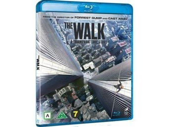 THE WALK. NY OCH INPLASTAD PÅ BLU-RAY