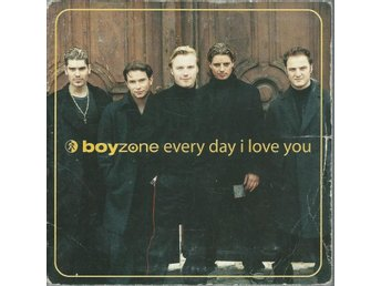 BOYZONE - EVERY DAY I LOVE YOU (CD MAXI/SINGLE )