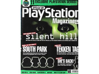 PLAYSTATION MAGAZINE UK 48 - SILENT HILL,TEKKEN TAG..