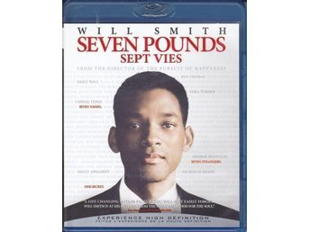 SEVEN POUNDS BLU-RAY Engelsk text REGION A