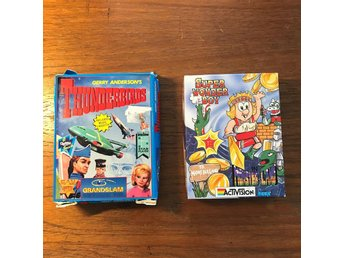 Thunderbirds och Super Wonder Boy till Commodore 64.