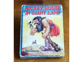 Walt Disney / Mickey Mouse in Giant Land (1934) / PR/FR / dåligt skick