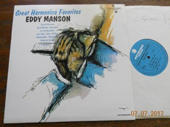 EDDY MANSON - Great Harmonica Favorites LP Movietone Mono