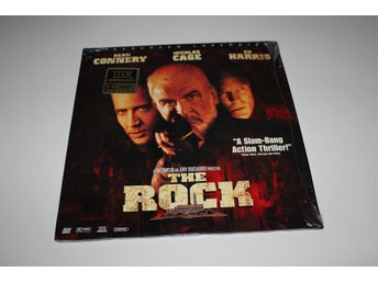 The Rock laser disc film i fint skick