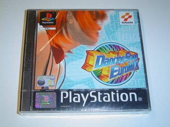 Dancing Stage Euromix Sony Playstation *NYTT*