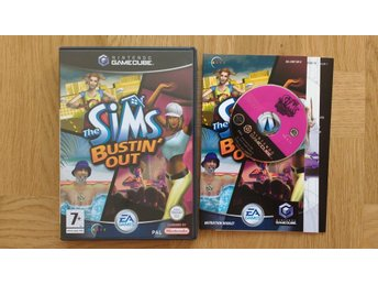 Nintendo GameCube: The Sims Bustin Out (svenskt)