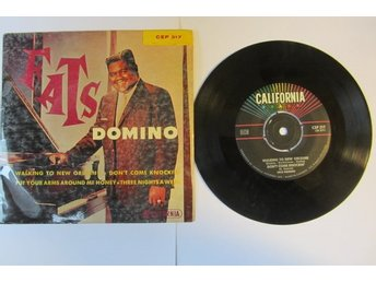 Fats Domino  EP 1960 / Walking To New Orleans-Don´t Come Knockin´ +2