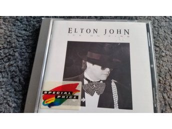 Elton John Ice on fire CD