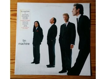David Bowie, Tin Machine, 1989, Skivan = Excellent+ (Skivan är provspelad)