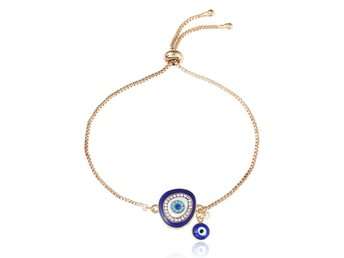 Adjustable Blue Devil's Eye Bracelet (Includes Three Different Styles)