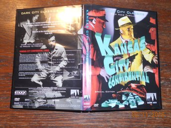 KANSAS CITY CONFIDENTIAL (1952) USA REGION 1 DVD Film Noir 4 maskerade män