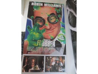 FLUBBER Robin Williams  ÅR 1997