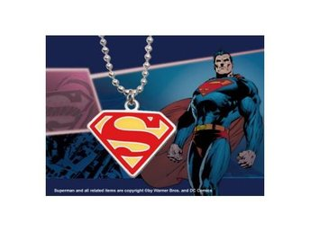 Superman Halsband Emblem Red