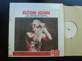 ELTON JOHN - All across the havens TAKRL  Rare live LP