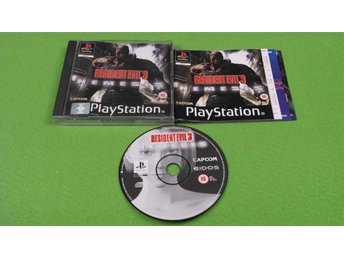 Resident Evil 3 KOMPLETT Playstation PSone ps1