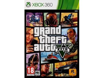 3 ST SPEL - Gta V (360) - True Crime (XBOX) - From Russia With Love 007 (XBOX)