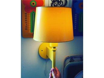 Luxus lampa retro gul underbart fin - Spånga - Luxus lampa retro gul underbart fin - Spånga