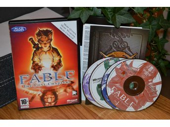 Fable The Lost Chapters (PC) Komplett Fint Skick