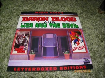 Baron blood and Lisa and the devil- Letterboxed Elite p 2LD