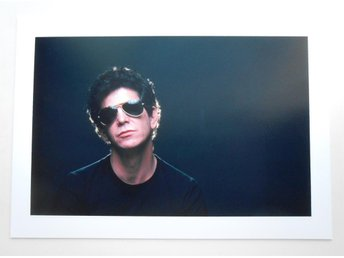 LOU REED - Portrait, NYC 1983 - Abbott - *A4*-print NME!