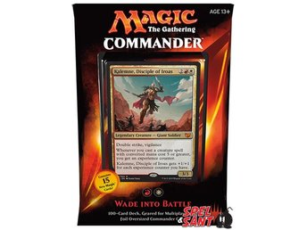 Magic the Gathering Commander 2015 Wade into Battle