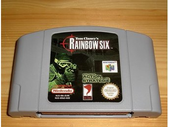 N64: Tom Clancy´s Rainbow Six