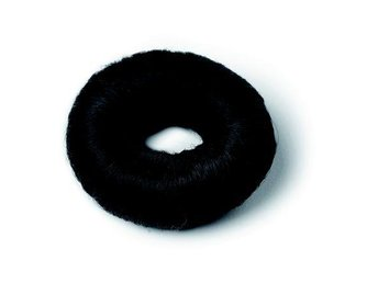 Bravehead Hair bun - Small Black Synthetic