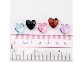 akryl pyssel hjärtan pärlor 40 st - Oskarshamn - akryl pyssel hjärtan pärlor 40 st - Oskarshamn