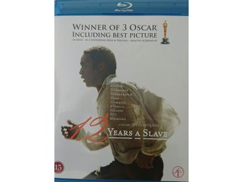 "Bluray ""12 years a Slave"""