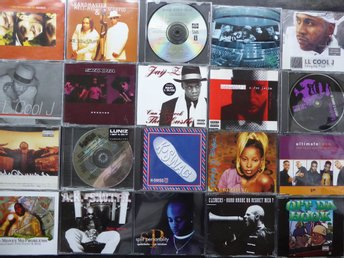 200 CD SINGLAR BL A JAY Z TRIBE CALLED QUEST A+ GEORGE COLE JOE ROOTS WYCLEF JEA