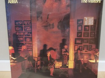 Abba - The Visitors inplastad, orginalpress, vinyl-LP