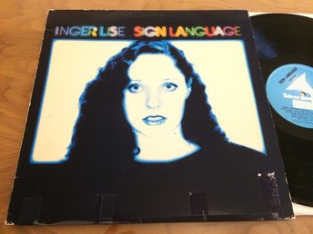 INGER LISE sign language LP -80 Norway COSMIC JAZZ DISCO