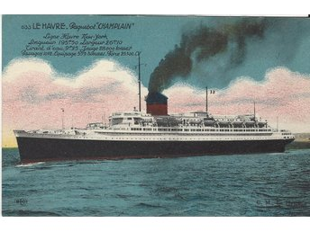 "French Liner "" CHAMPLAIN """