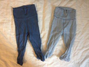 Byxor stl 62 - Ljusdal - Två blå byxor stl 62. Fint använt skick. - Ljusdal