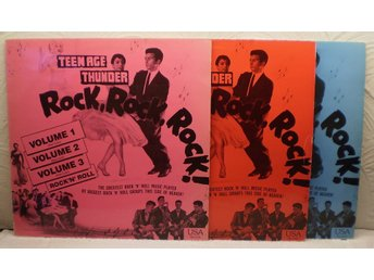 TEENAGE THUNDER - ROCK ROCK ROCK - Vol 1, 2, 3 - USA 1957-59