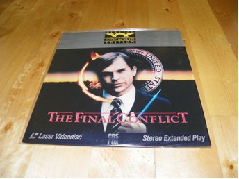 The final conflict - Widescreen edition - 1st Laserdisc