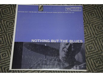 HERB ELLIS - Stan Getz - Nothing But the Blues - VERVE orig US mono DG LP