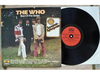 LP The Who-Best of the sixties (Tyskland)