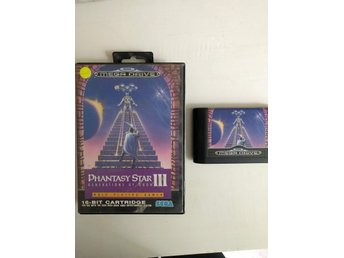 Phantasy Star 3 utan manual