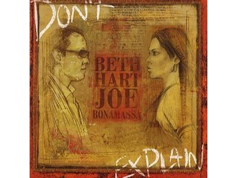 Hart Beth & Joe Bonamassa: Don't explain 2011 (CD)