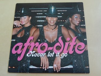 AFRO-DITE Never let it go Melodifestivalen Eurovision 2002 CD Singel