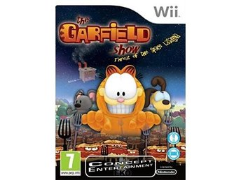 GARFIELD SHOW THE THREAT OF THE SPACE LASAGNA (i box) till Nintendo Wii